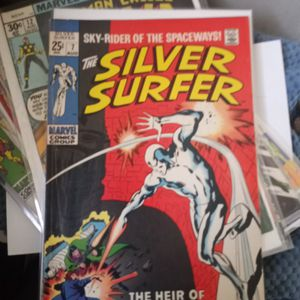 Silver Surfer # 7 1969 Vf +condition for Sale in Inglewood, CA