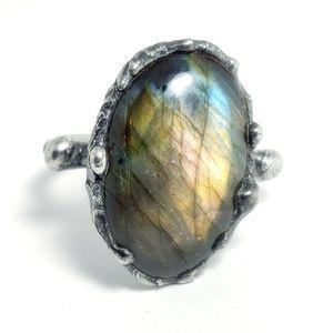 Labradorite ring size 11.5 for Sale in Stockton, CA