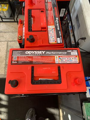 34 R– 790. Odyssey battery performance brand new for Sale in Rancho Cucamonga, CA