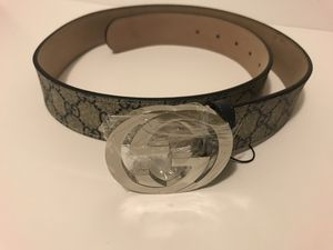 Gucci Belt Genuine leather Designer Luxury Clothes for Sale in Lawrenceville, GA