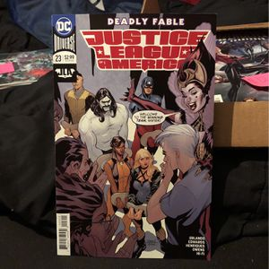 DC JLA Deadly Fable Justice League Of America Comic #23 for Sale in Mount Prospect, IL