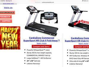 Cardiozone Supersport HR Club Foldaway for Sale in Abington, MA