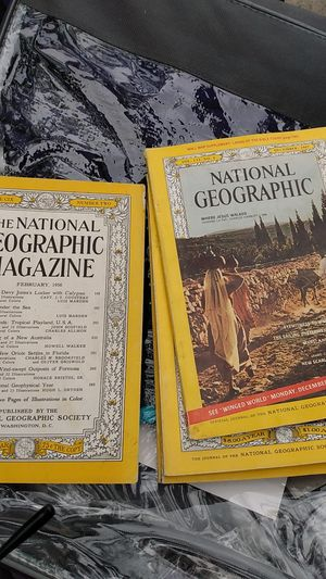 Free national geographic magazines for Sale in Modesto, CA