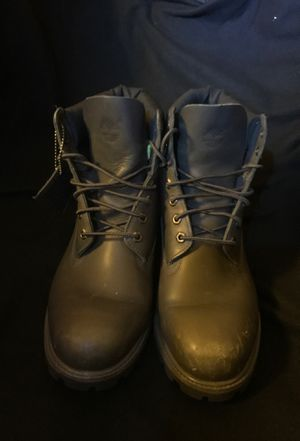 Onyx Grey Timberlands (Size 11.5 M) for Sale in Lynnwood, WA