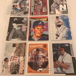 110+ Greg Maddux baseball cards for Sale in Bailey's Crossroads, VA