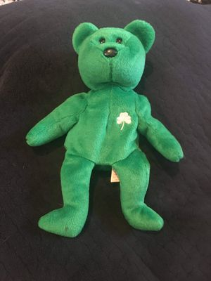 Green clover beanie baby for Sale in Sebring, FL