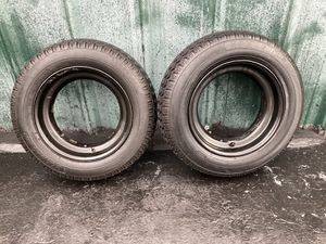 Two new tires size 215-60D14.5 for Sale in Riverview, FL