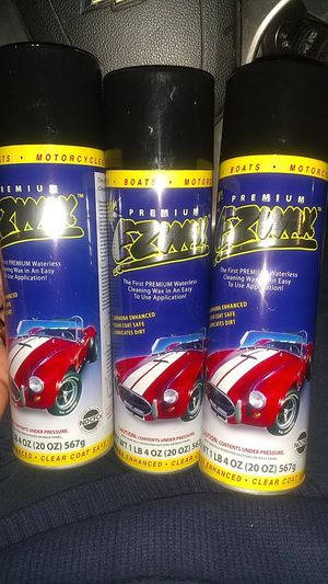 3 bottles of EZ Wax Waterless Carwash Spray for $30 for Sale in Annapolis, MD