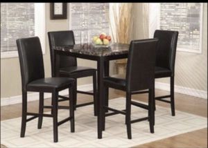 High table with 4 chairs for Sale in Los Angeles, CA