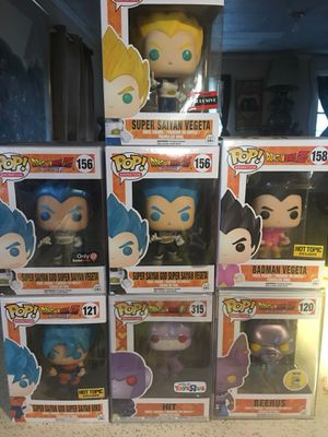 Dragonball Z/Super exclusive Funko! Pop for Sale in Princeton, NC