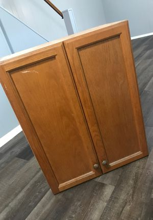 Solid Wood Kitchen Cabinet for Sale in Catonsville, MD