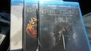 Game of thrones seasons 1-3 for Sale in Dallas, TX