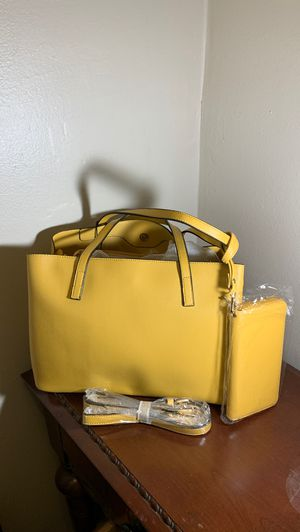 2 piece Leather Tote Bag for Sale in Greenbelt, MD