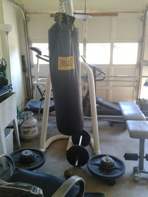 Everlast punching bags for Sale in Springfield, VA