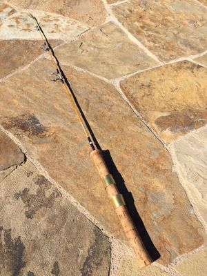 Vintage Sabre 3' Straggler Mini Twitcher Ultralight Trout Fishing Rod for Sale in Fullerton, CA