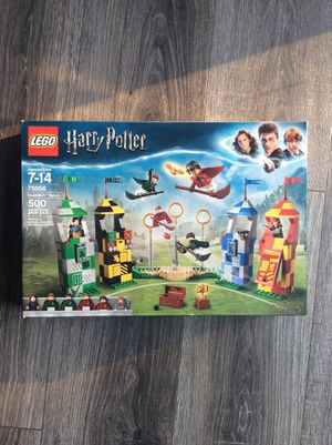 Harry Potter Quidditch match lego set for Sale in Riverside, CA