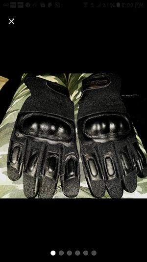 Hard Knuckle Leather Tactical Police Force Gloves XL for Sale in Greenville, NC