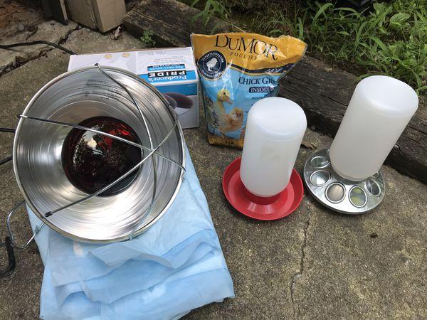 Chick starter supplies