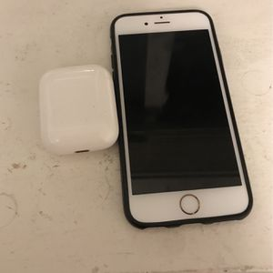 iPhone 6s And Airpods With Charging Case for Sale in Layton, UT