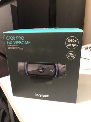 Logitech C920 Pro HD Webcam for Sale in Boston, MA