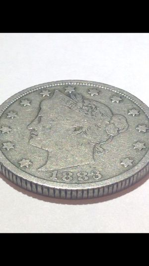 Incredibly Rare Reeded Edge 1883 Liberty V Nickel- $800 Value- Highly Uncommon- Very Valuable! for Sale in Reston, VA