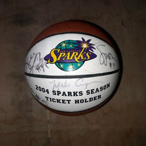 Sparks 2004 Autographed Basketball for Sale in Los Angeles, CA