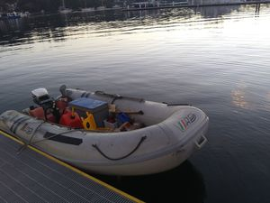 11ft AB inflatable with 9.9 outboard for Sale in Port Orchard, WA