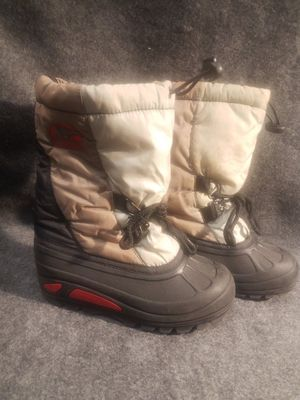 SOREL Kids Youth Winter Snow Boots Shoes 13 liner Brown Charter n for Sale in Oceanside, CA