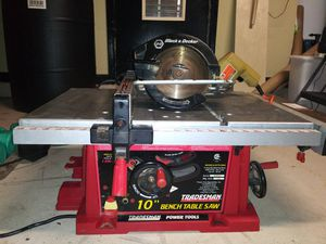 Table Saw, Circular Saw and Drill for Sale in Clermont, FL