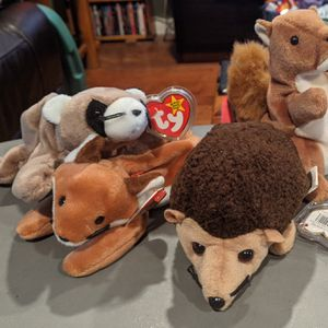 Beanie Babies - Woodland Critters Bundle for Sale in Fullerton, CA