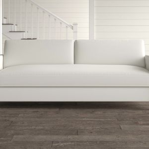 """White Square Arm Couch 90"""" US Made for Sale in Los Angeles, CA"""