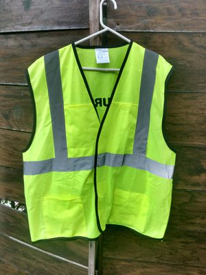 VEST REFLECT SECURITY ( condition exelente) for Sale in Miami, FL