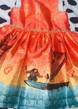 Moana Disney dress for Sale in Los Angeles,  CA