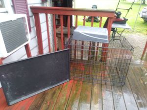 Xl dog crate for Sale in Pleasant Plain, OH