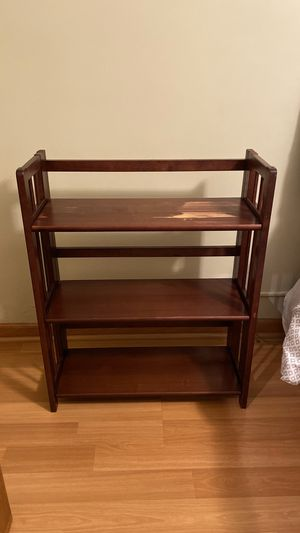 Solid Wood Folding Book Shelves for Sale in Minneapolis, MN
