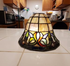Vintage stained glass shade for Sale in Bellevue, WA