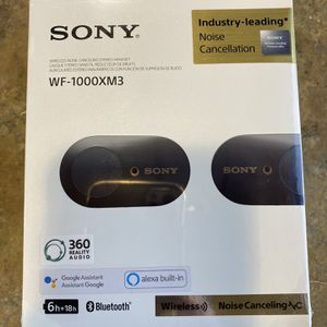 SONY WF-1000XM3 Wireless Noise Canceling Headphones for Sale in Surprise, AZ