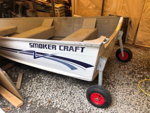 12' smoker craft alumium boat $1000 firm for Sale in Lynnwood, WA