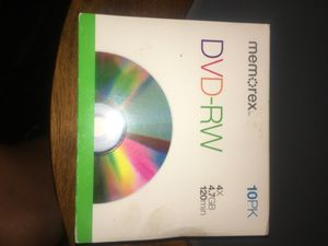 Memorex DVD-RW CDs for Sale in West Columbia, SC