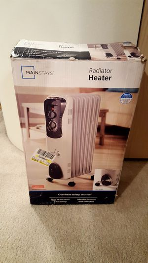 MainStays Radiator Heater – Excellent Condition – Works Amazingly! for Sale in Chelan, WA