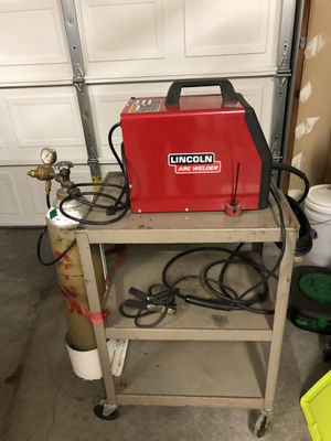 Lincoln Electric Arc Welder with Mig Add-On for Sale in Puyallup, WA