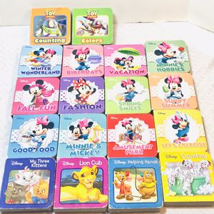 Disney Mini Board Books Lot Of 18 for Sale in Pawtucket, RI