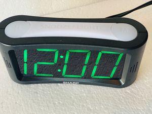 Sharp Electric Digital Alarm Clock for Sale in San Antonio, TX