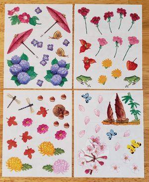 Creative Memories Pacific Garden Stickers for Sale in Fontana, CA