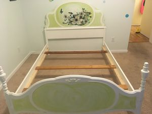 Hand Painted Full Bed Frame for Sale in Biltmore Lake, NC
