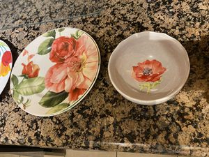 Bowls side plates for Sale in Fort Lauderdale, FL