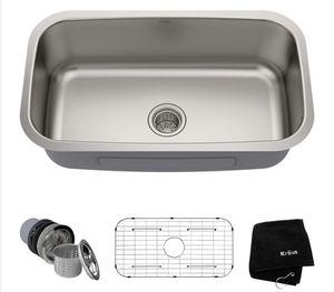 New! In box— Undermount Stainless Steel 31 in. Single Bowl Kitchen Sink for Sale in Phoenix, AZ