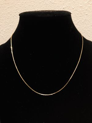 14k Gold Flat Chain. for Sale in San Francisco, CA