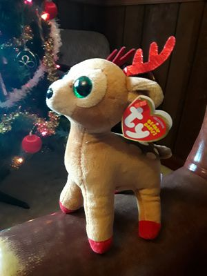 Ty Beanie Babies Tinsel the Reindeer. MWMT. for Sale in Reading, PA