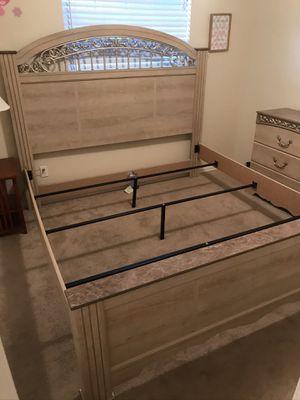 Ashley Furniture Catalina King Size Bed Frame for Sale in Brandon, FL